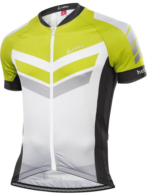 Löffler Hotbond RF FZ Bike Trikot Herren schwarz/hellgrün